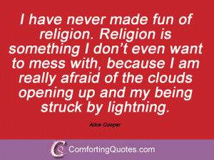 Quotes From Alice Cooper