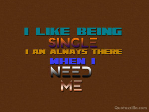 Being Single Quotes HD Wallpaper 14