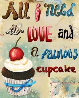 29 Birthday Quotes Cupcake quote illustration art