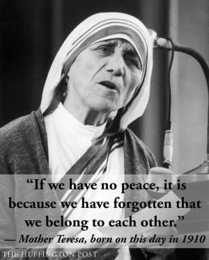 Happy birthday Mother Teresa