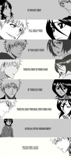 ichigo and rukia quote go to entry author toshiro5336 favorites own ...
