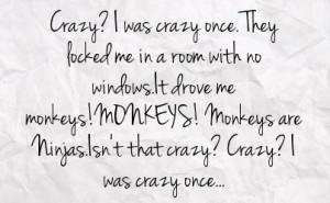 crazy insane quotes