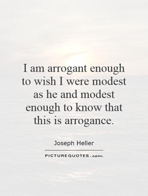 Arrogant Quotes