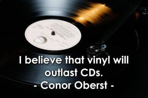Conor Oberst Vinyl Quote