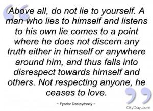 above all fyodor dostoyevsky