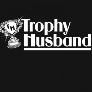 Trophy Husband T-Shirt Funny Valentines Day Wedding Bachelor Party ...