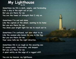Friendship Poem - My Lighthouse