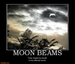 moon beams fear ringed by doubt is my eternal moon tags fear doubt