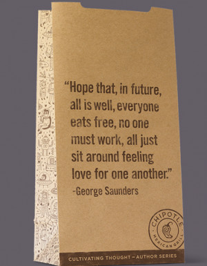... hear why Chipotle printed communist rhetoric on its to-go bags, cups