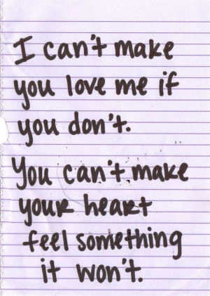 Bonnie Raitt, I Can't Make You Love Me.