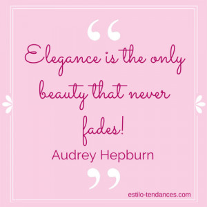 Audrey is famous for all kinds of quotes, but this might be the one ...