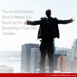 Eminem Inspirational Quotes