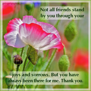 ... your joy and sorrows.but you have always been there for me.Thank You