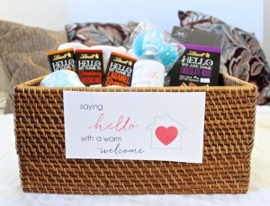 Saying HELLO with a Warm Welcome: How To Put Together a House Guest ...