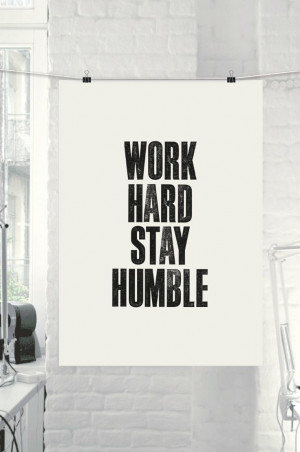 Inspirational Quote Motivational Print Work by TheMotivatedType, $9.00