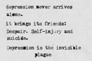 ... think some Depression Hurts (Depressing Quotes) above inspired you