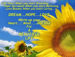 ... Motivational,Dream,Hope,Love,Life,Heart,Mind,Soul,Beautiful Quotes