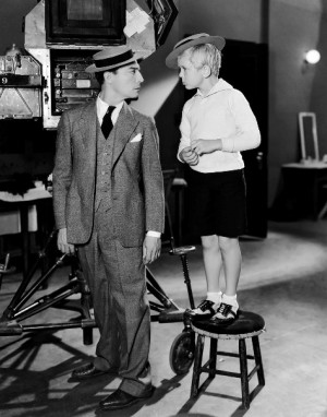 Buster Keaton and Jackie Cooper