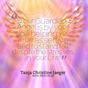 Angel Is By your Side Helping You To Be Assertive And To Stand ...