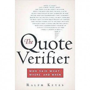 The Quote Verifier (Paperback)