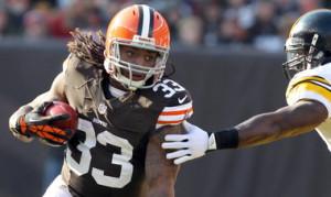 Browns running back Trent Richardson says