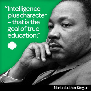 """... education."""" – Dr. Martin Luther King, Jr.: Goals, Girls Quotes"""