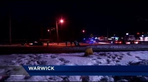 Icy roads to blame for Warwick crash