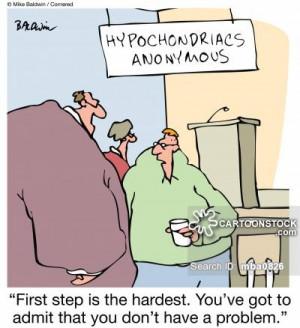 Hypochondria cartoons, Hypochondria cartoon, funny, Hypochondria ...