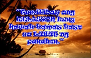 Tagalog Quotes - Strong Relationship