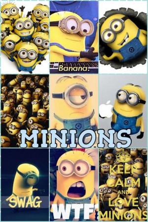 Minion collage: Minions Os, Minions Collage