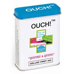 Ouch! Plasters Band Aids - Clever Quotes... £3.82 Buy it now Free P&P