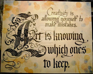Art and Creativity Quote