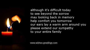 short religious quotes about death children