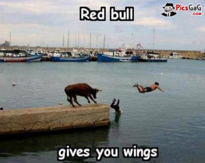 ... this funny ad make you smile laugh and you say what a funny red bull