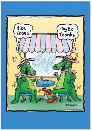 Crocodile, Alligators, Clothing Jokes, Apparel Jokes, Divorce Humor ...