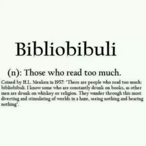 Those who read too much