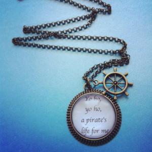 yo ho yo ho pirate quote pirates of the caribbean by 2tinyhearts, $25 ...