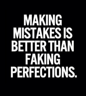 Making Mistakes - quotes Photo