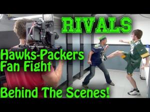 Seahawks Packers Fans