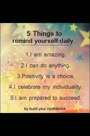 Positive thoughts = positive actions / Law of attraction- Inspiration