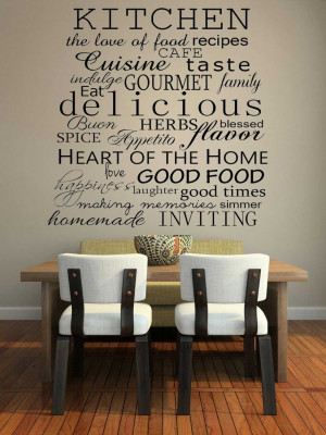 Kitchen wall decor ideas pictures