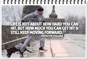 Sylvester Stallone Rocky Balboa Quote