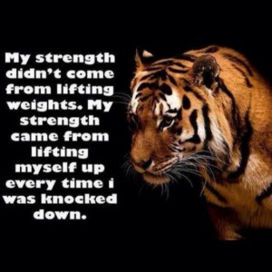 My Strength Comes From Within