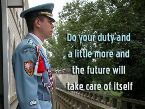 take care quotes and sayings do your duty and a little more and the ...