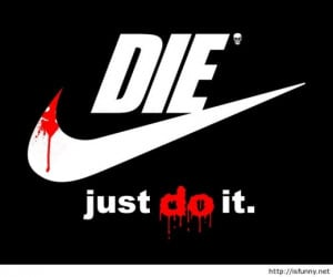Funny nike hd wallpaper with quote