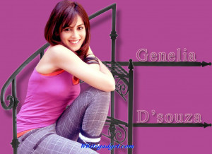 Genelia D'Souza Wallpaper