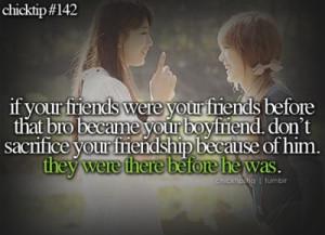 friends #life #quote #bestfriend #boyfriend #friendsfirst