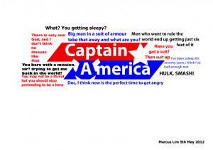 Captain america avengers quotes by MarcusSoNaughty