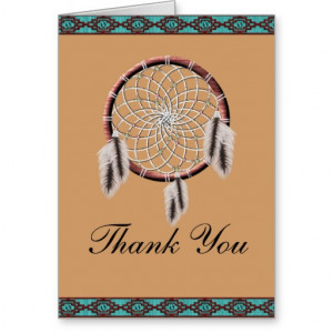 Native American Thanks
