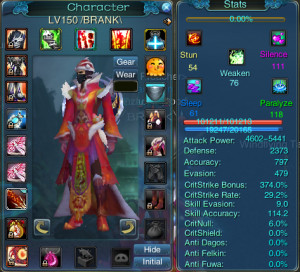 here is my lupin preasc build